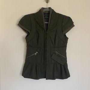 Nanette Lepore Wool Jacket Size 6
